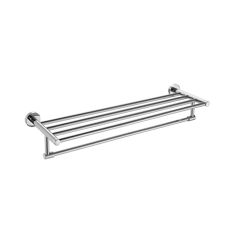 Bathroom Bath Towel Rack Towel Bar Stainless Steel JA04