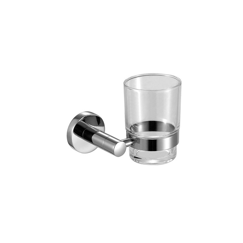 Stainless Steel Cup Dish Shelf for Bathroom JA09