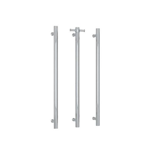Vertical Single Bar Heated Towel Warmer Stainless 304 I-CR01-01/02