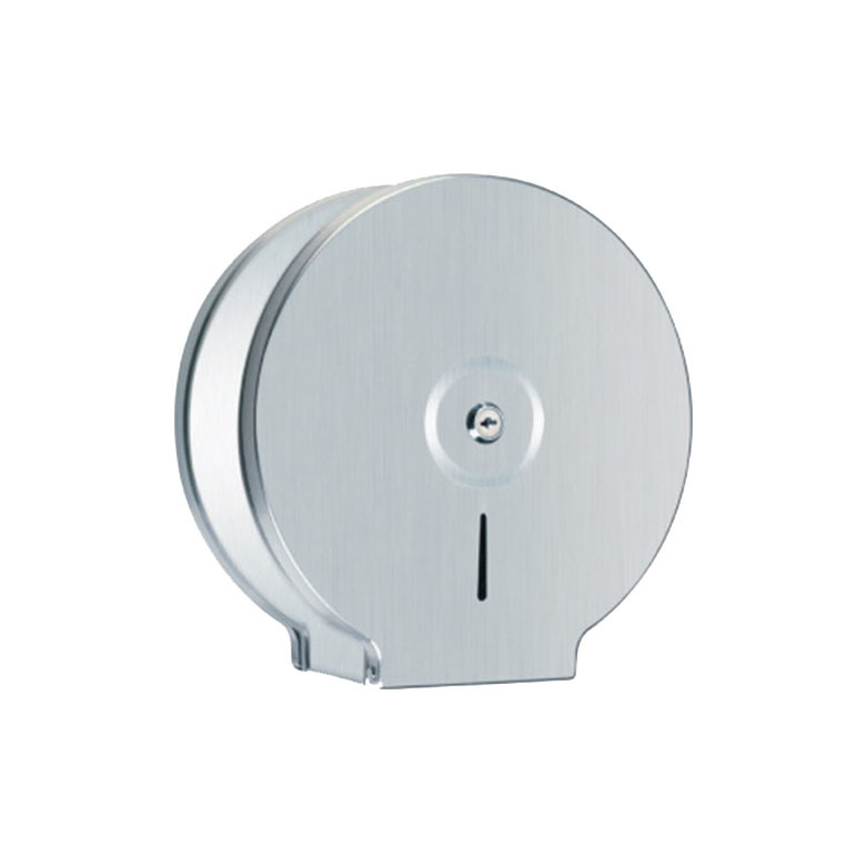 Commercial Bathroom Round Shape Paper Dispenser Stainless Steel KA01-01