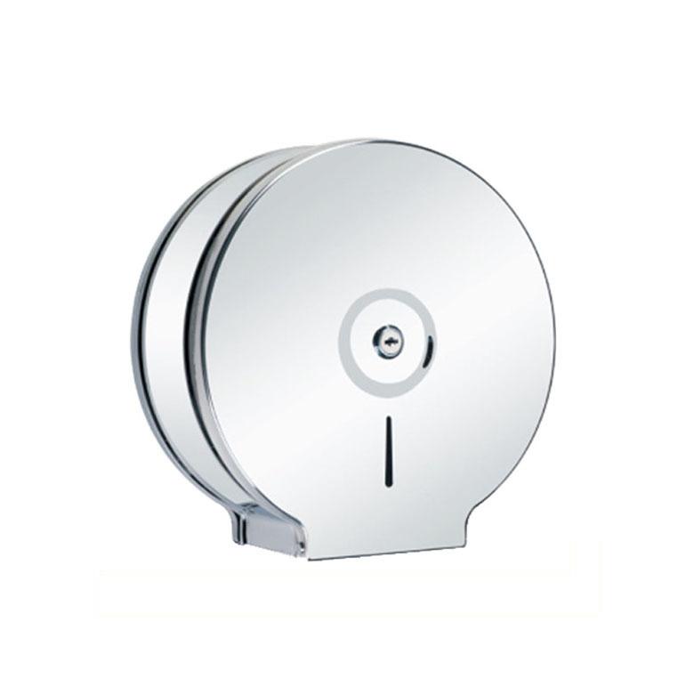 Stainless Steel Polished Washroom Roll Tissue Dispenser KA01-02