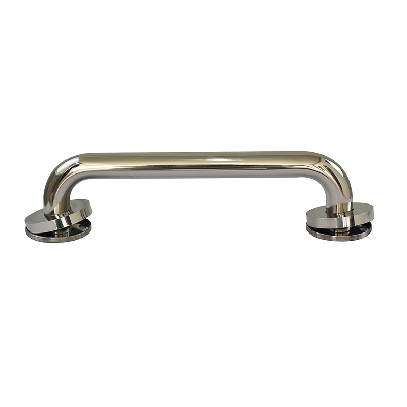 Norye Stainless Steel New Design Grab Bar with Threaded Flanges and Covers SG01-02