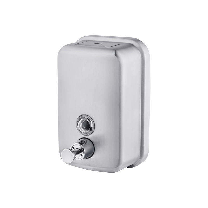 high quality stainless steel soap dispenser commercial directly sale for bathroom-1
