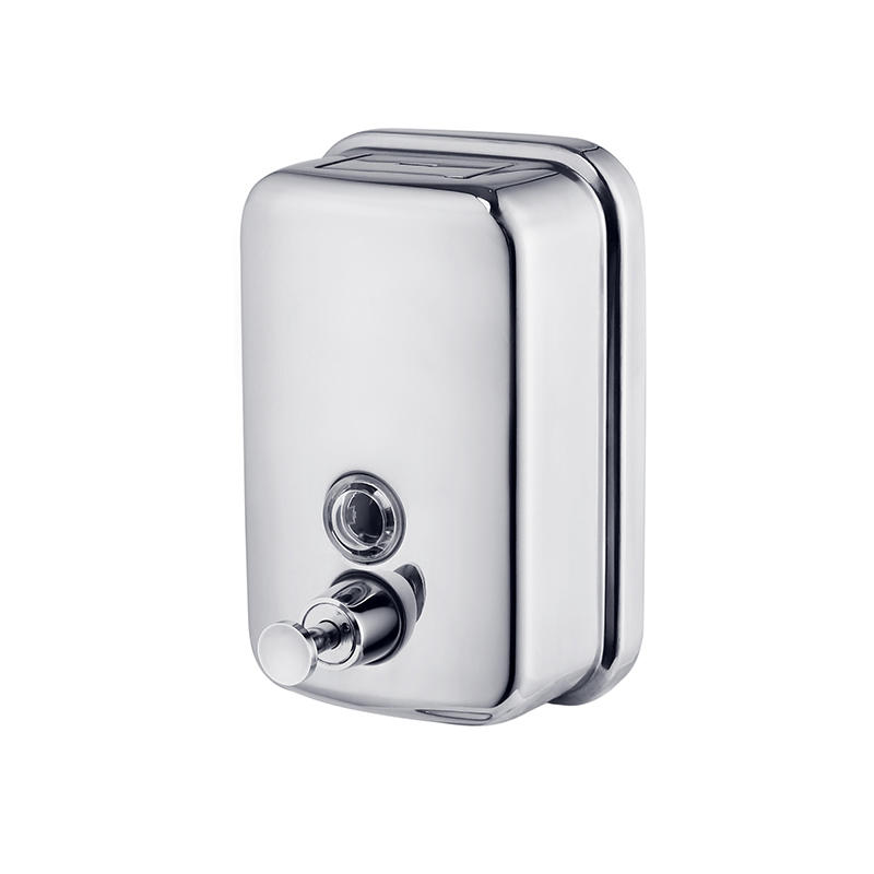 high quality stainless steel soap dispenser commercial directly sale for bathroom-2