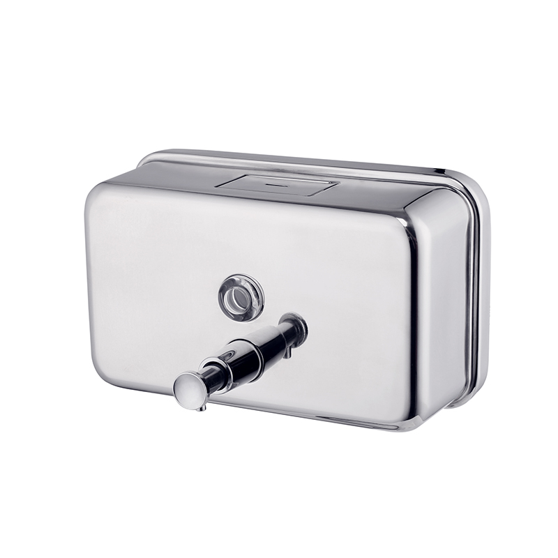 Norye Wall-mounted Soap Dispenser for Bathroom with Plastic Tank Inside MC02
