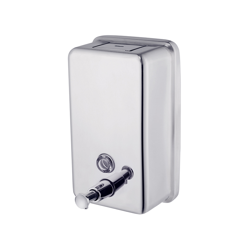 Manufacturer Stainless Steel 304 Soap Dispenser with Plastic inner tank for Bathroom MC04