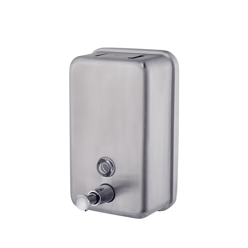 Norye top quality stainless steel soap dispenser wall mounted with good price for home use-1