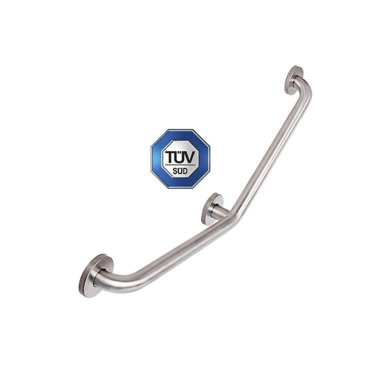 TUV Approved Shower Grab Bar for Safe with Satin/Powder Coated/Polished Finish