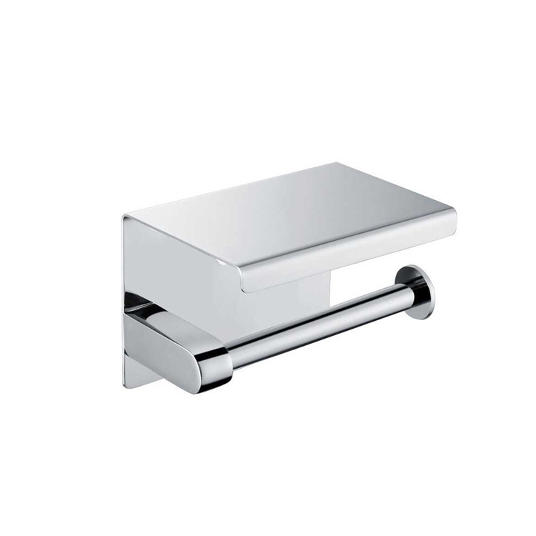 SS304 Stainless Steel Bathroom Toilet Paper Holder Wall Mount JF05-02