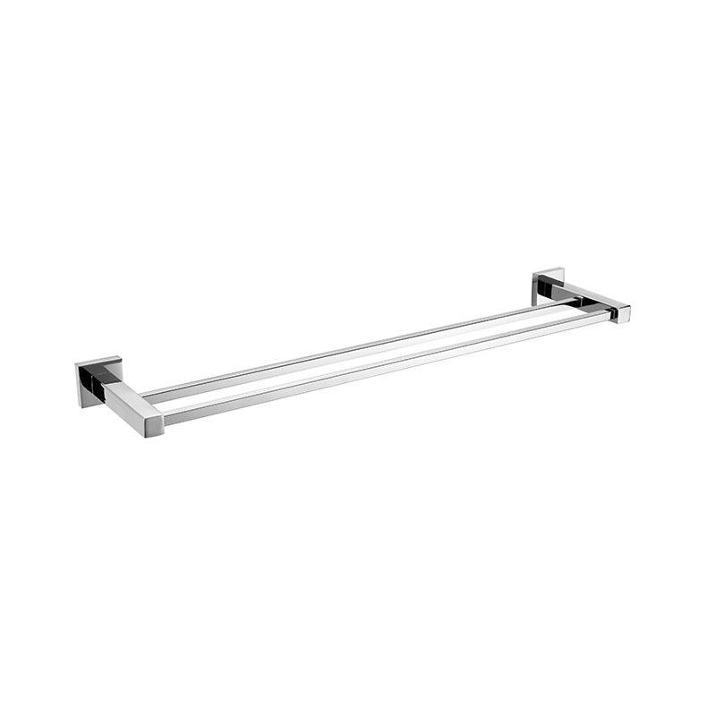 Stainless Bathroom Accessories Towel Rail with Square Base JD02