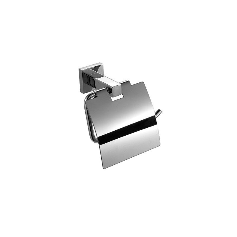 Paper Holder Stainless Steel Toilet Tissue Dispenser with Cover JD05