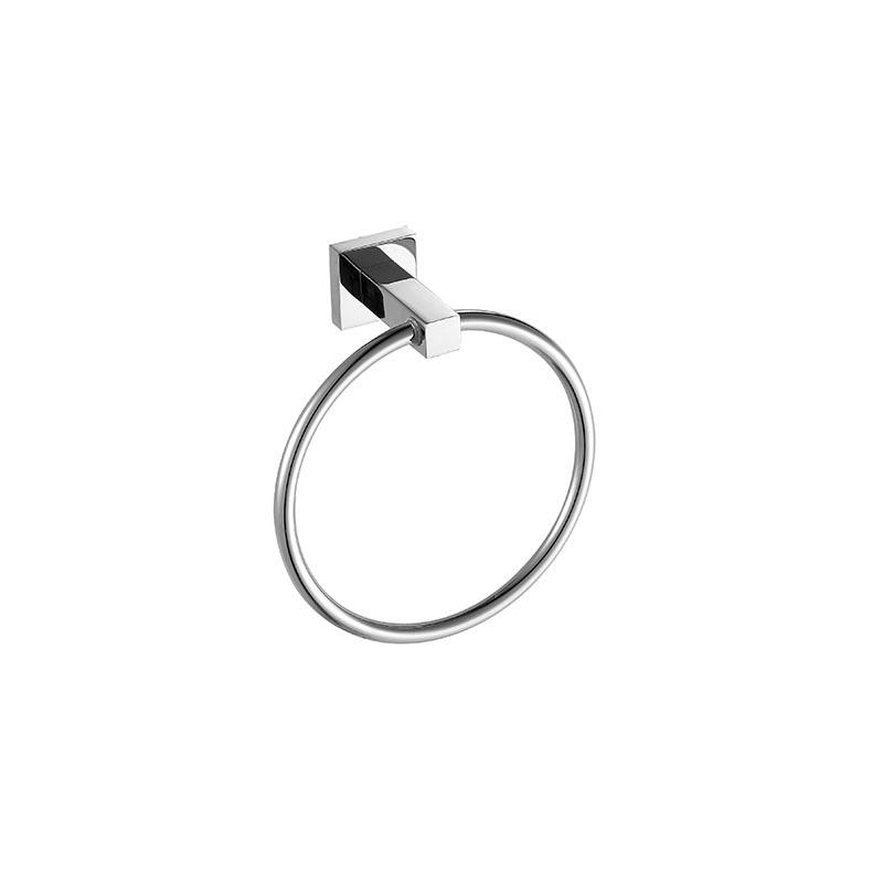 Bathroom Accessories Stainless Steel Towel Ring for Washroom JD07