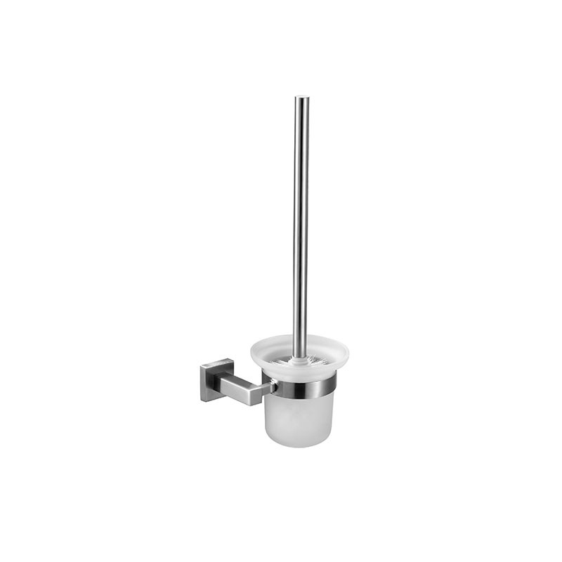 Stainless Steel Bathroom Accessories  Wall Mounted Toilet Brush Set JD12