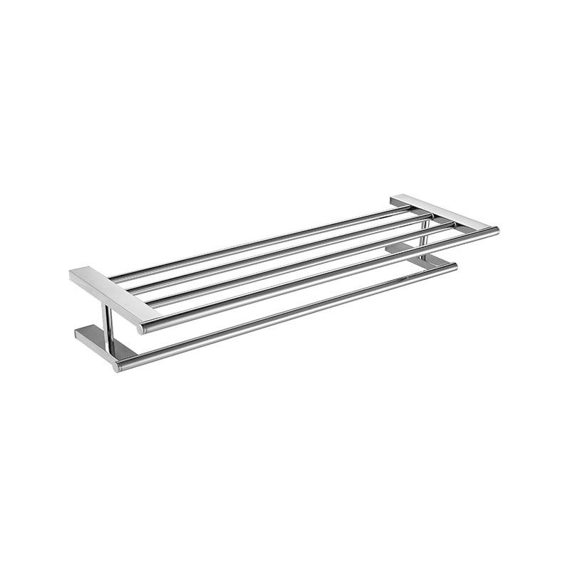Bathroom Bath Towel Rack Towel Bar Stainless Steel JE04