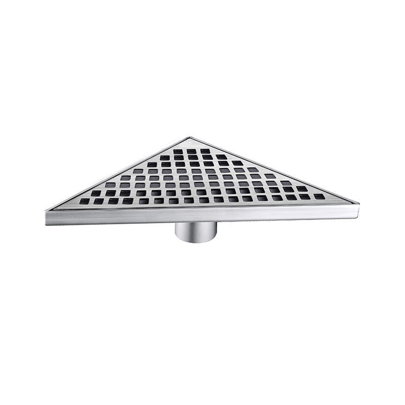 Triangle Shower Floor Drain Stainless Steel ZTB-01-13