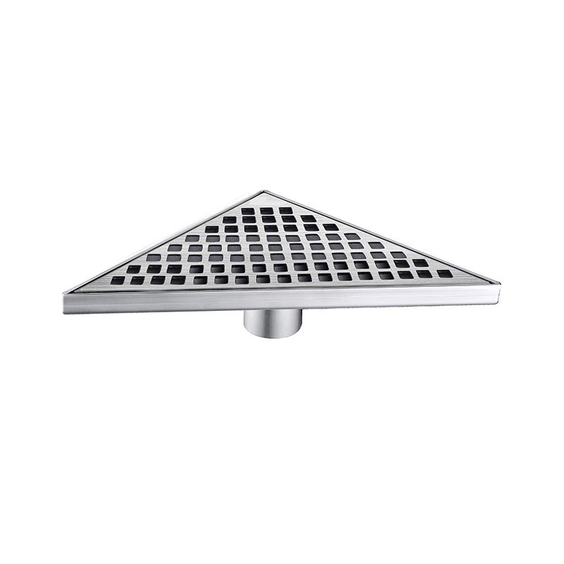 Triangle Shower Floor Drain Stainless Steel ZTB-01-13