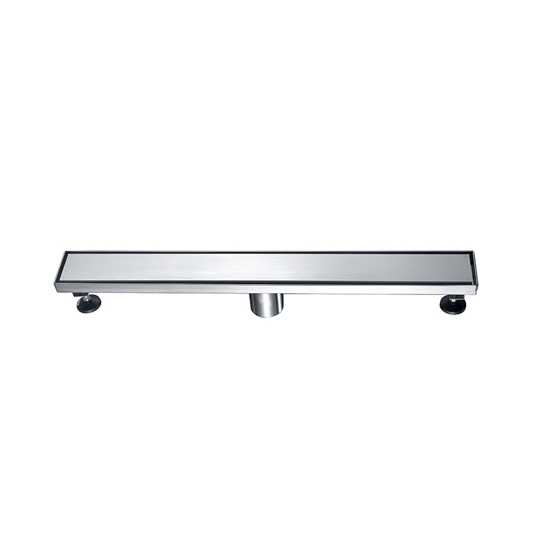 Rectangle invisible Shower Drain for Bathroom Stainless Steel Material ZLV-01