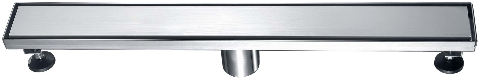 Norye trough drain with cushion pad for washrooms