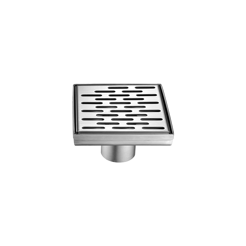 Square Shower Floor Drain with Stainless Steel 304 Material for Bathroom ZLY-01-05