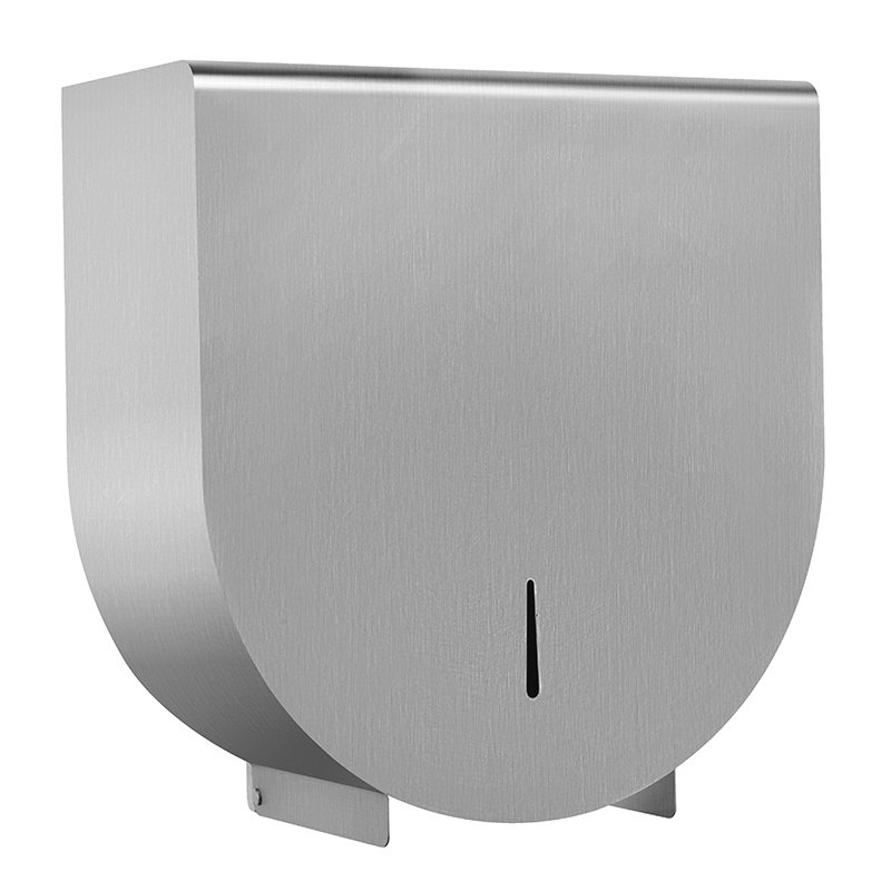 High Quality Stainless Steel Toilet Roll Paper Dispenser Holder With Flat Top for Belongs KA04
