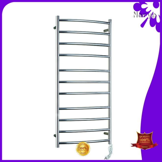 bright polished stainless steel towel rail customized for home Norye