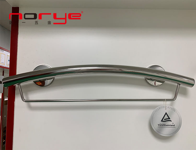 Grab bar with towel bar bathroom accessories stainless steel wall mounted PG003