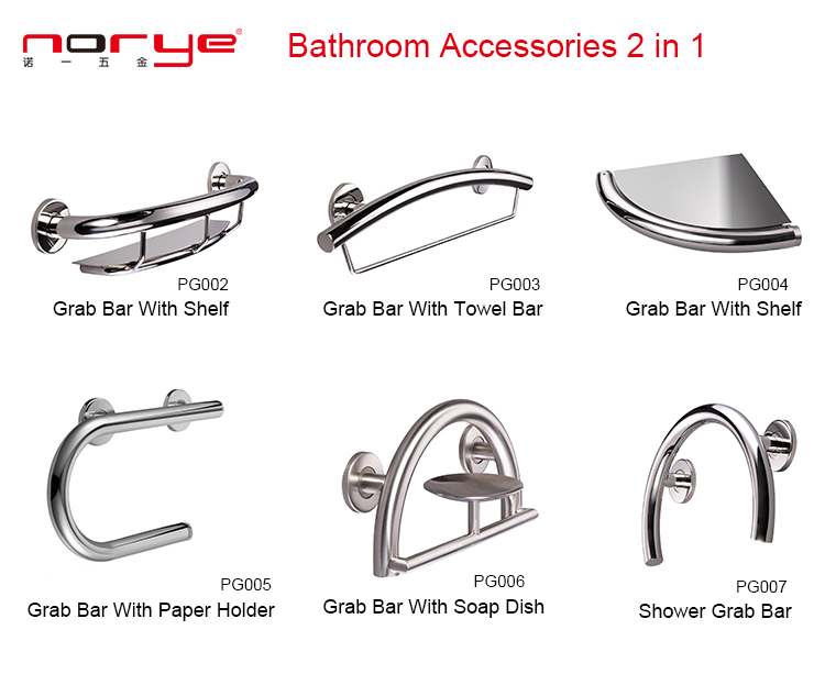 Norye stainless steel toilet accessories from China for hotel-6