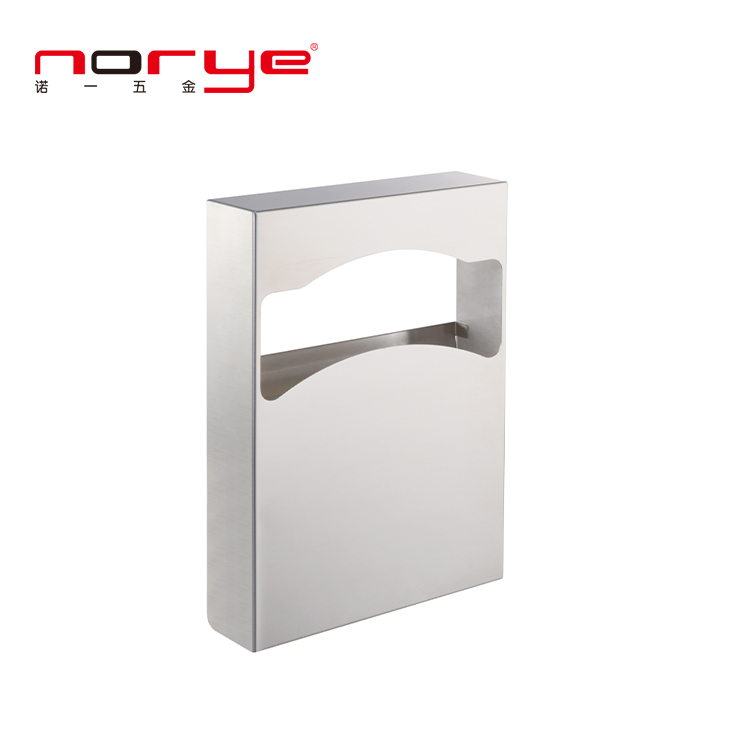Factory Direct Fold Classic Series Brushed Toilet Seat Cover Paper Dispenser NA02