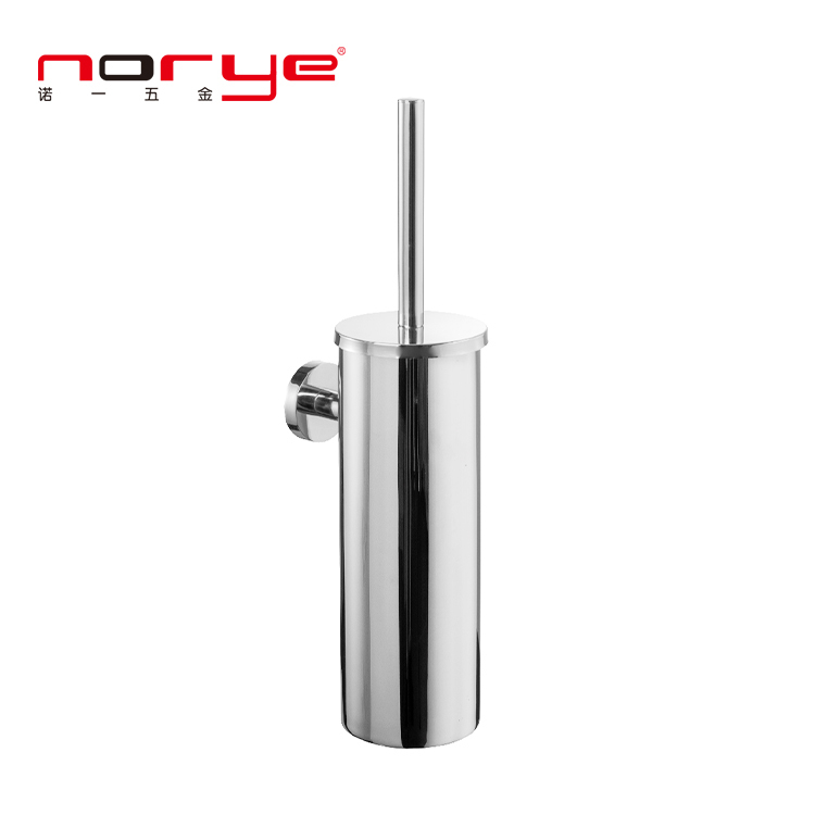 Norye bathroom round toilet brush holder bathroom accessories stainless steel 304 JA16