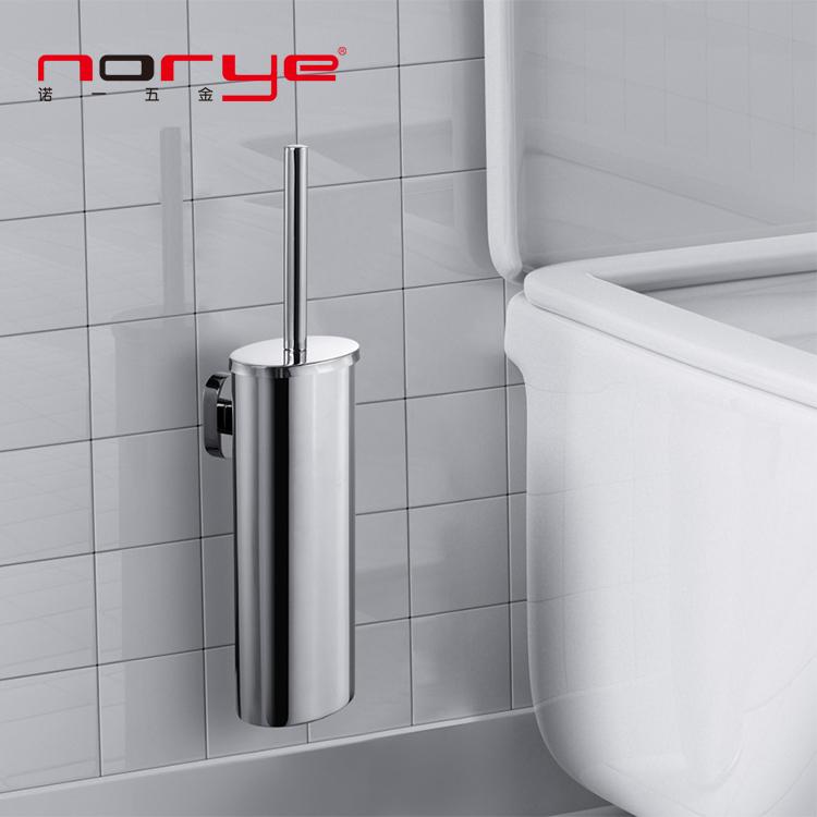 Bathroom accessories hotel Toilet Brush Holder set wall mounted stainless steel JK16