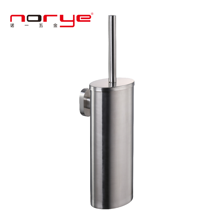 Bathroom accessories hotel Toilet Brush Holder set wall mounted stainless steel JK16