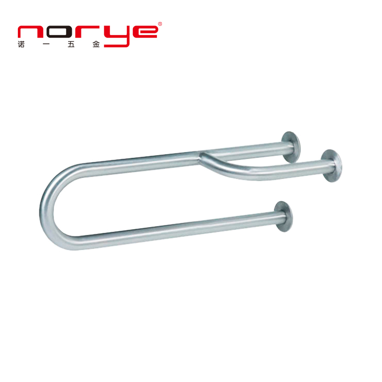 YG14 Sample Accepted Safety Handrail 304 stainless steel grab bar for bathroom toilet