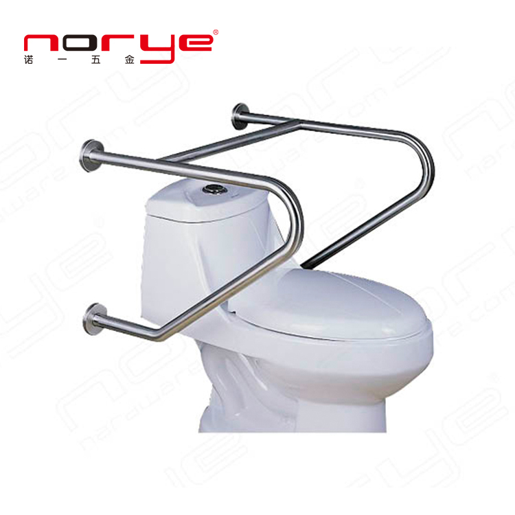 Disabled Toilet Safety Bathroom Stainless Steel toilet Grab Bar YG16