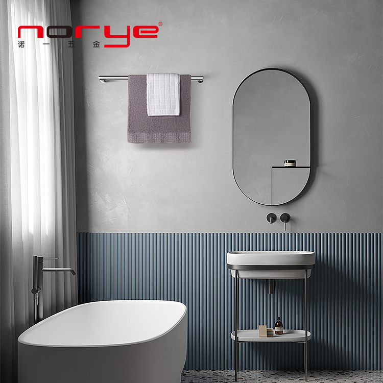 Norye heated towel rail electric stainless Steel 304 for bathroom radiator hot sales towel warmer