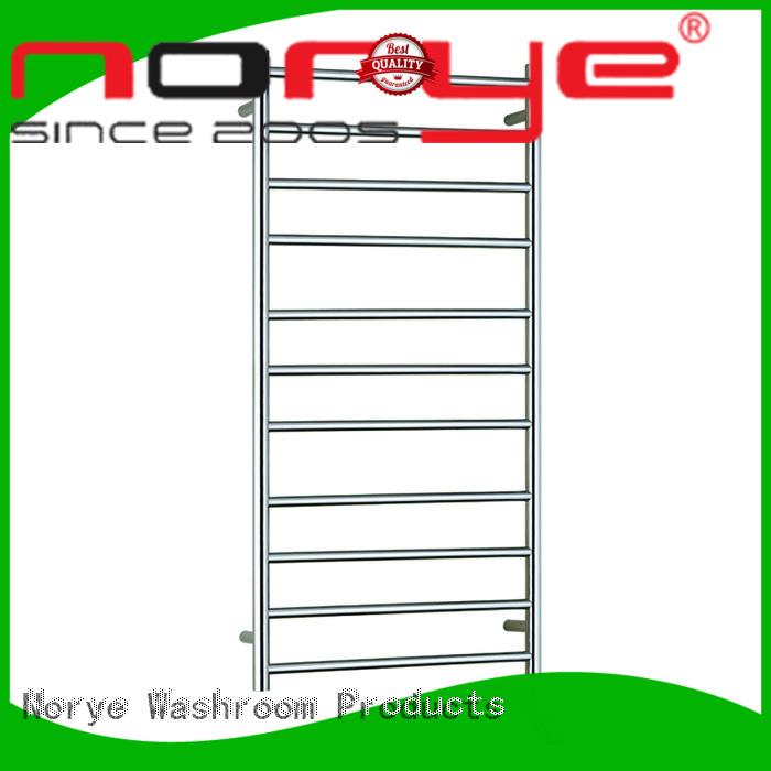 bathroom heated towel rail chrome curved for hotel Norye