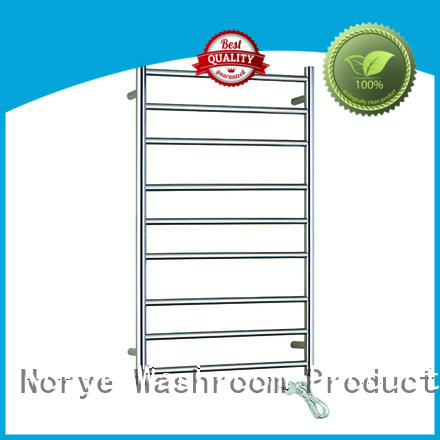 heated towel drying rack square tube for hotel Norye
