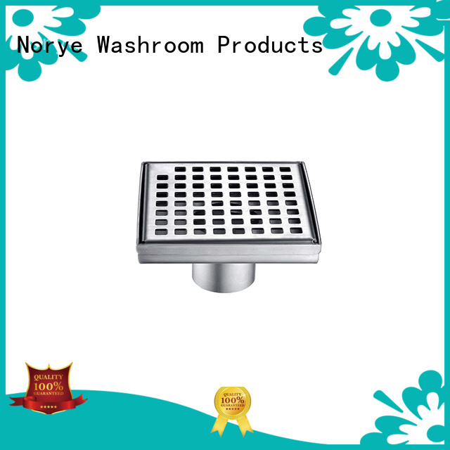 Norye fold-down bathroom floor drain customized for bathroom