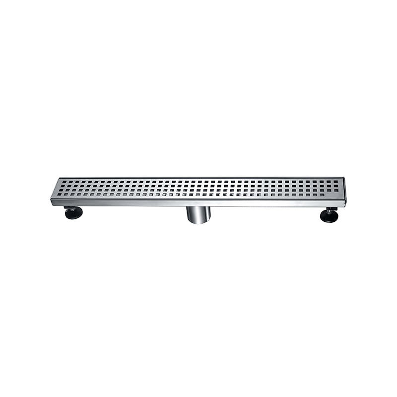 Norye white coated finish stainless steel drain directly sale for disabled people-1