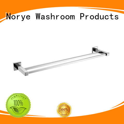 JD02 Stainless Bathroom Accessories Towel Rail with Square Base