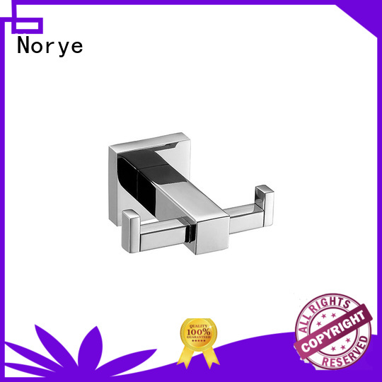 stylish towel ring with square base for home