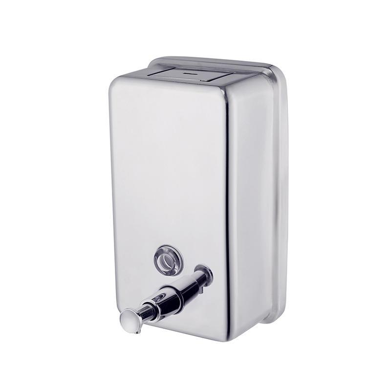 rail stainless steel soap dispenser-2