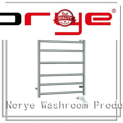 Norye electric heated towel rack supply for hotel