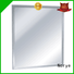 Norye commercial wall-mounted mirror for bathroom square shape for washroom