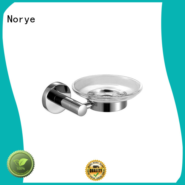 Norye square chrome wall mounted towel rack manufacturer for washroom