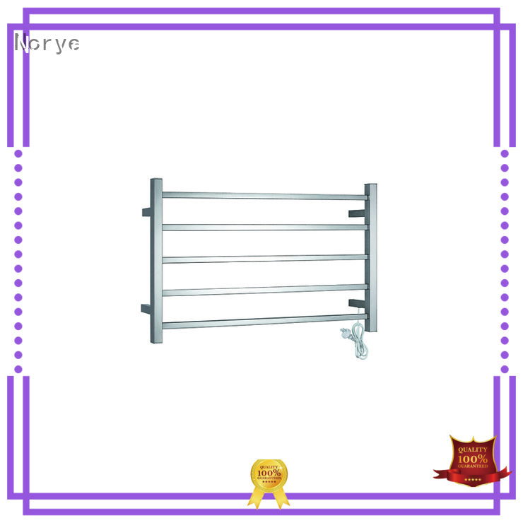 corded heated towel drying rack series for home Norye