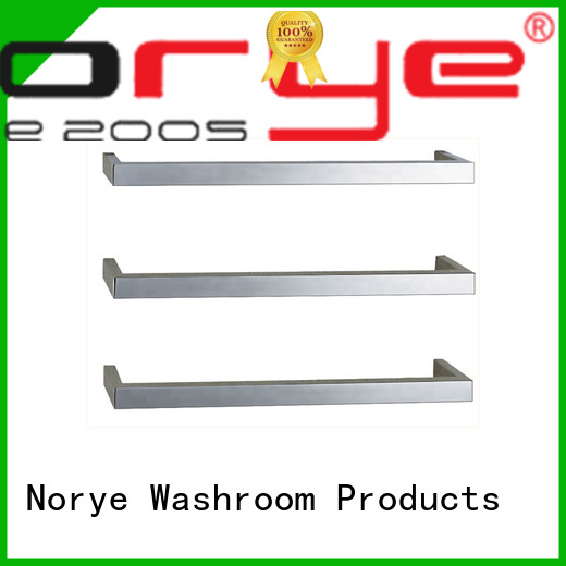 electric heated towel rack square tube for clothes Norye