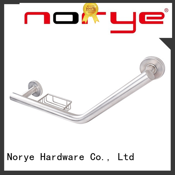 stainless steel wall mount grab bar supplier for bathroom