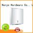 Norye satin stainless steel paper towel dispenser design for bathroom