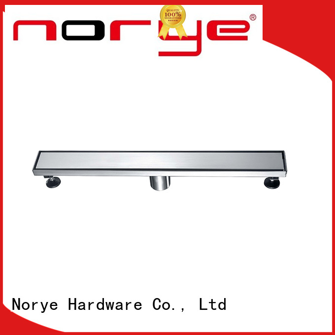 Norye best value bathroom floor drain cover with cushion pad for washrooms