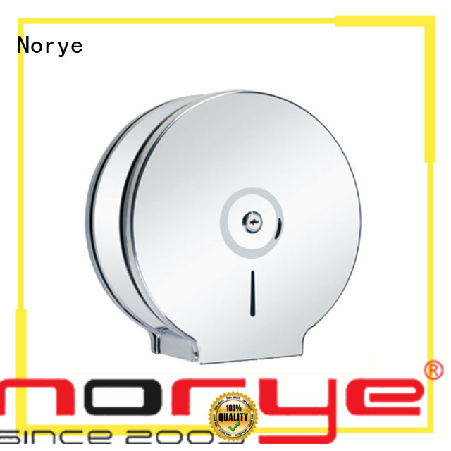 Norye quality toilet paper roll dispenser round shape for family